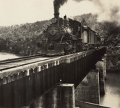 Train at Tallulah Falls 5